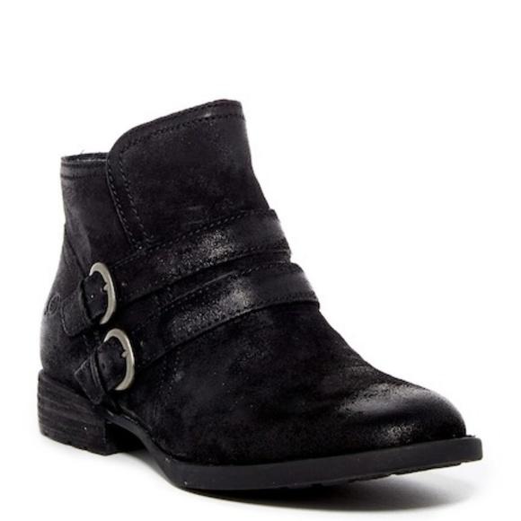 6f4d9e5bb24b NIB Born Pirlo Distressed Leather Ankle Boot